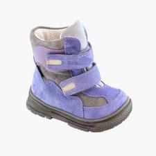 Kožené fialovo-sivé
