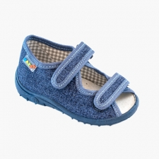 Riflová sandálka