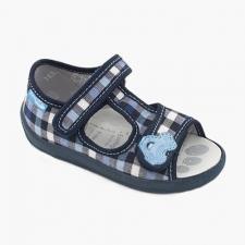 Sandálka modrá